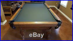 Leisure Bay 8 Ft. Pool Table, Excellent Cond, extras