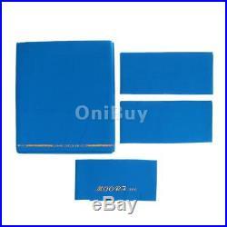 M00RI500 Standard 9ft Table High Speed Billiard Cloth Pool Table Felt Blue
