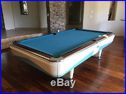 M. Blatt 9' Pool Table midcentury modern design