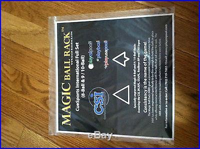 Magic Ball Rack, 8 & 9/10 Combo, Best Value Online! , Cue Racks
