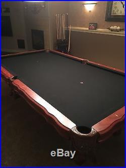 Mahogany Pool Table Presidential Billiards Addison 8 Foot