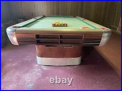 Mid-Century Brunswick Balke Collender Billiard Pool Table