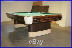 Mid-Century Modern Art Deco Vintage Anniversary edition Brunswick Billiards