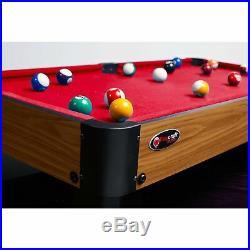 Mini Pool Table 40 Billiards Top Set Kids Children Portable Indoor Gift