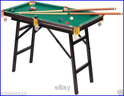 Mini Pool Table- 4 feet, floor standing, accessories included