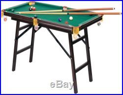 Mini Pool Table Folding Game Board with Accessories Billiards Set Portable $0 Ship