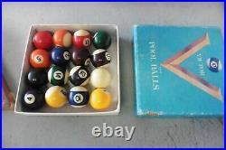 Mini Pool table Minnesota Fats Miniature GMI 36x20 victor balls rack Billiards