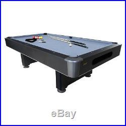 Mizerak Dakota 8 ft. Slate Pool Table with Ball Return System, 8 ft