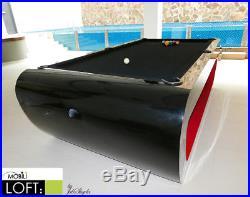 Mobililoft Minimalist Professional Pool Table, Exclusive Design