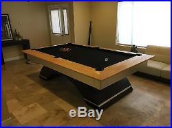 Modern Custom 8 Foot Pool Table