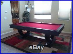 Monaco 8' Pool Table Available with Dining Top Conversion and FREE Shipping