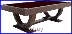 Monaco 8' Pool Table Dark Walnut Separate Dining Top Available