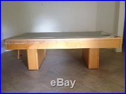 Monarch Olehausen Pool Table 8-foot, Birch Wood