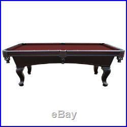 Monterey Billiards Authentic 3-Piece 1 Slate Regulation 8' Billiard Pool Table