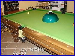 Murrey & Sons custom pool table with accessories L@@K