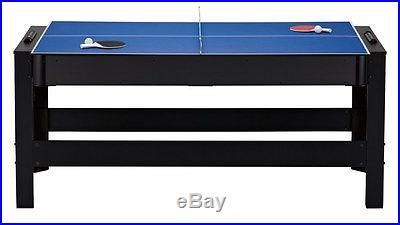 NEW 3-In-1 Table Game with Billiards, Table Tennis & Air Hockey FREE SHIPPING