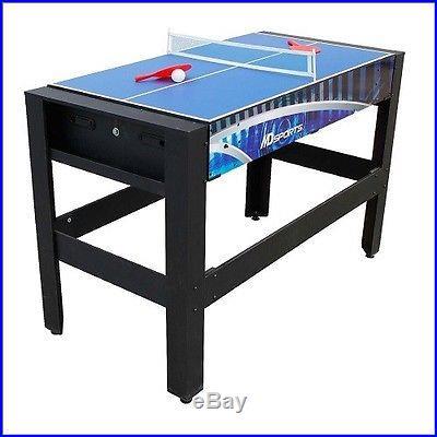 NEW 6-in-1 Game Table Air Hockey Pool Tennis Basketball Bean Bag & Football Toss