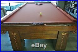 NO RESERVE Antique Brunswick-Balke-Collender Pool Table NO RESERVE WILL SELL
