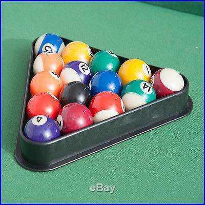 New 4.5FT Mini Foldable Portable Pool Table Billiard Table full set w/balls