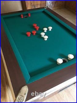 New Great American Recreation Equipment, inc. Bumper Pool Table