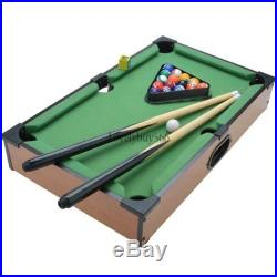 New Mini Table Top Pool Table With Ball Accessories Indoor Games Billiards LB6Y