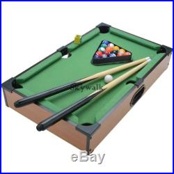 New Mini Table Top Pool Table With Ball Accessories Indoor Games Billiards SYL6