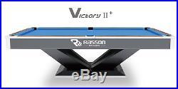 New Pool Table 9 ft Rasson Victory II Pro Tournament Billiard Tables