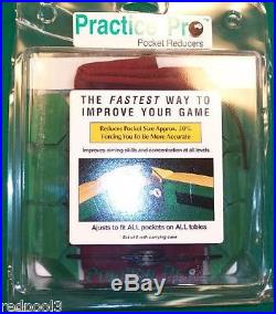 New Practice Pro Pocket Reducer Training Tool Improve Your Accuracy 1 Set