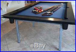 O8o. Com Model PT2 Custom Steel Pool Table