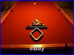 OLHAUSEN 9 FT Pool Table With Light Over $12000 New Sell Because Of Move