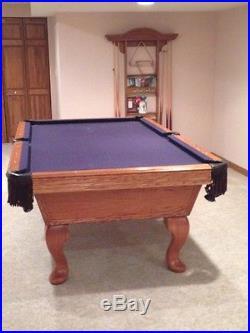 OLHAUSEN Portland Series'Stratford Model' 8 Foot Billiard Table $1000