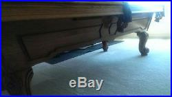 OlHausen 8' Professional Pool Table Barely Used