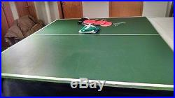 OlHausen 8' Professional Pool Table with a ping-pong table top Barely Used