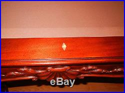 Olhausen 8' Oversize Pool Table - Solid Mahogany