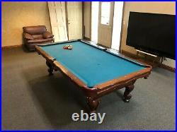 Olhausen 8' Slate Pool Table