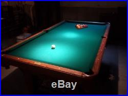 Olhausen 8ft Pool Table Very good condition 3/4 slate