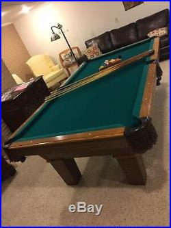 Olhausen 8ft high-end Pool Table- $2000