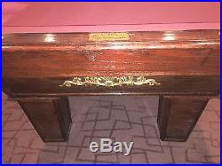 Olhausen Billiards Pool Table Ques 4 Chairs & Table 8 Ft Pickup only Arizona
