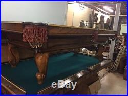 Olhausen/Brunswick 8 ft Pool Table