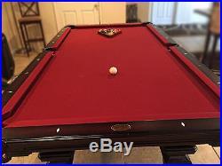 Olhausen Hampton Heritage Cherry Pool Table