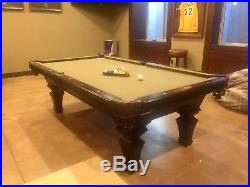 Olhausen Hampton Pool Table 8 Ft Local Pickup Only