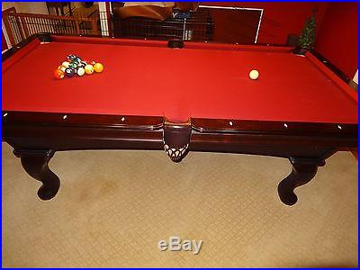 Olhausen Mahogany 7 Foot Slate Pool table