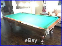 Olhausen New Orleans 9'ft Pool Table with Iwan Simonis 760 Super fast Felt