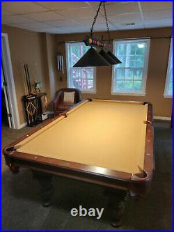 Olhausen Oak pool table credit toward moving. High-end in new condition