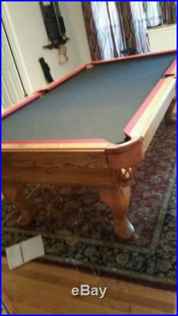 Olhausen Pool Table, 8 Foot, Great Condition, Local Pickup Only No Reserve