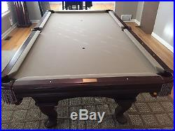 Olhausen Pool Table and Brunswick Ping Pong Top (8ft x 4ft)