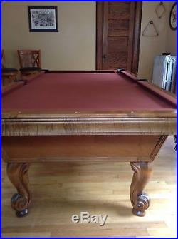 Olhausen Provincial Slate Pool Table 8 Foot