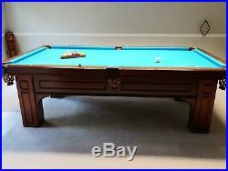 Olhausen Remmington 8 Foot Pool Table
