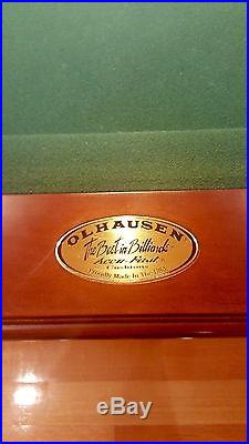 Olhausen pool table 9