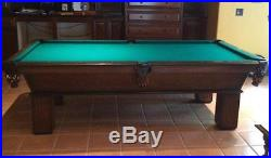 Olhausen pool table great condition (no reserve)